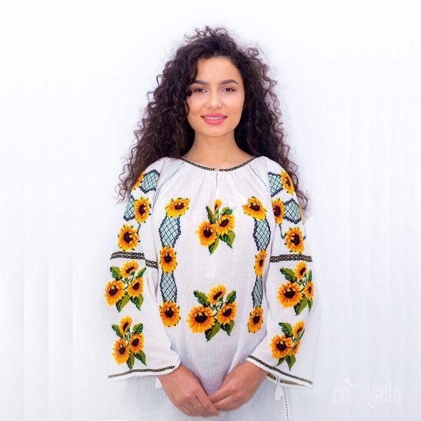 Ie cu Floarea-Soarelui - Model Victoria
