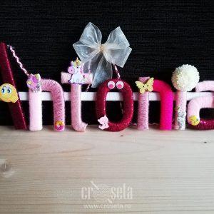 ANTONIA - Nume din litere personalizate