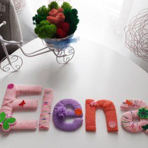ELENA - Nume decor camera copilului