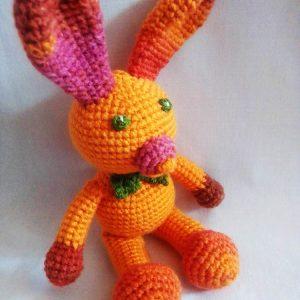 Jucărie de pluș handmade - Iepurașul Rilă