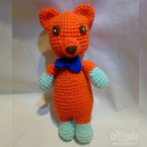 Ursulet crosetat, jucarie handmade