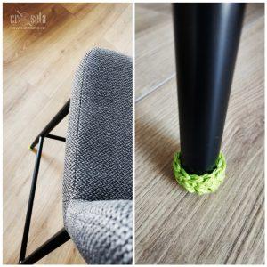 Set 4 protectii pentru picioare de scaun