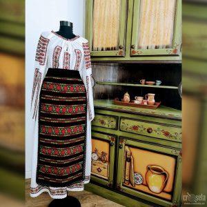 Costum popular cu oprege oltenesti - Model TEODORA